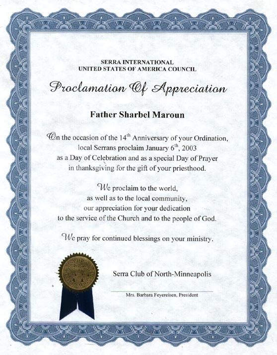 Vocation Appreciation And Affirmation